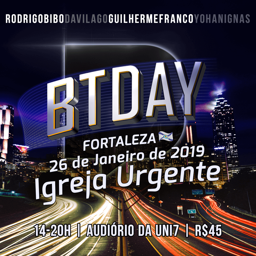 BTDay em Brasília dia 24/11
